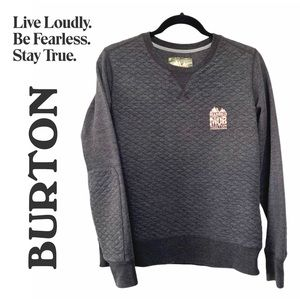 Burton x Married to the Mob Quilted Sweatshirt